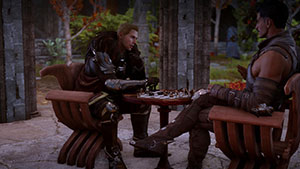 Dragon age inquisition flirten cullen