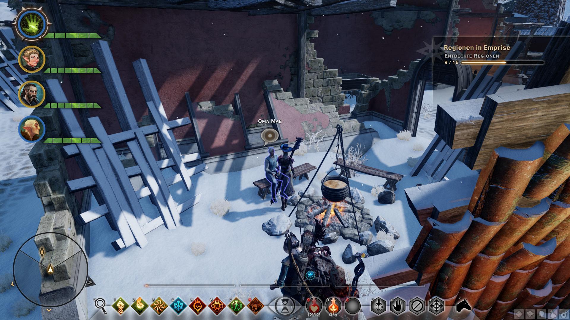 Dragon Age Inquisition Emprise Du Lion Mama Ring