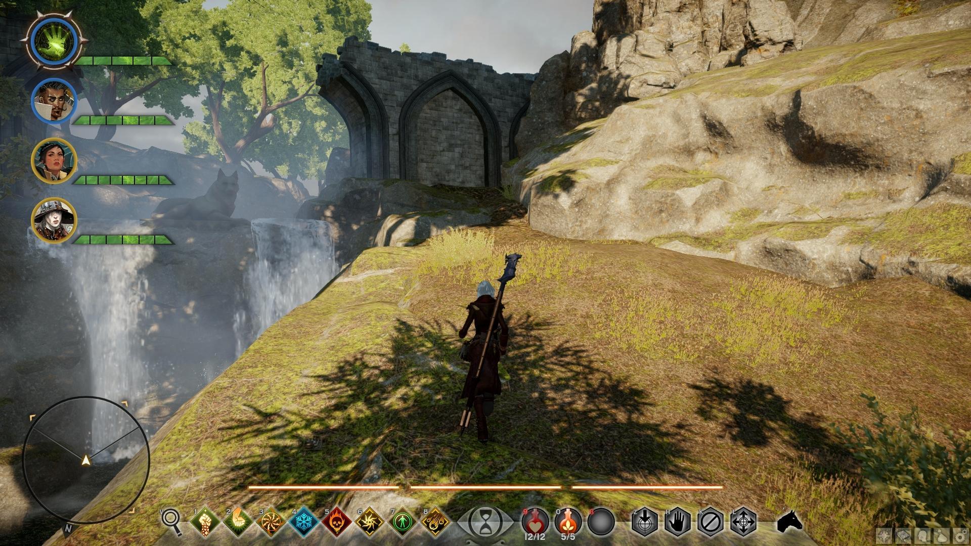 Karte von Halin\'sulahn (Map of Halin\'sulahn) | Lösung | Dragon Age ...