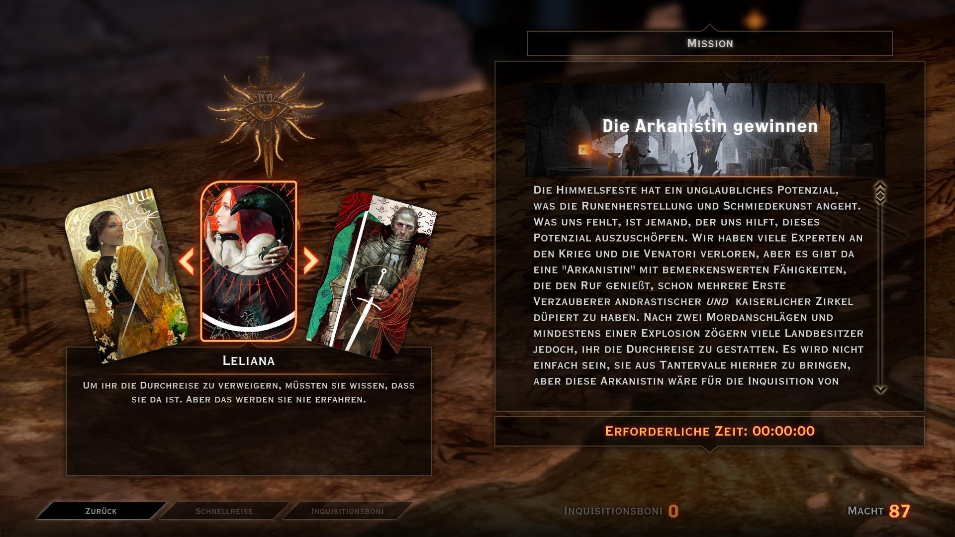 Dragon Age Inquisition Dagna Crafting
