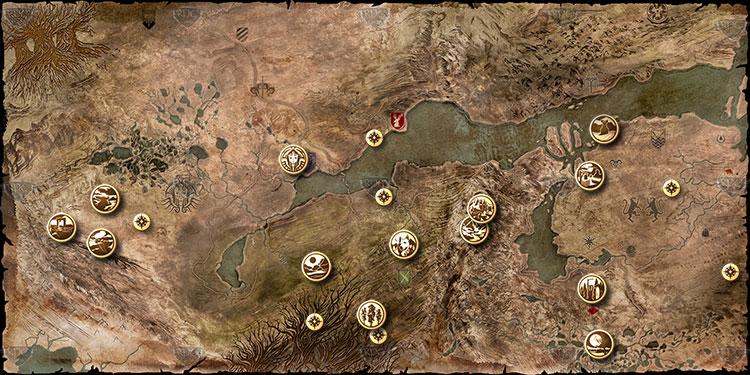 Gebietsübersicht | Dragon Age Inquisition | RPGuides