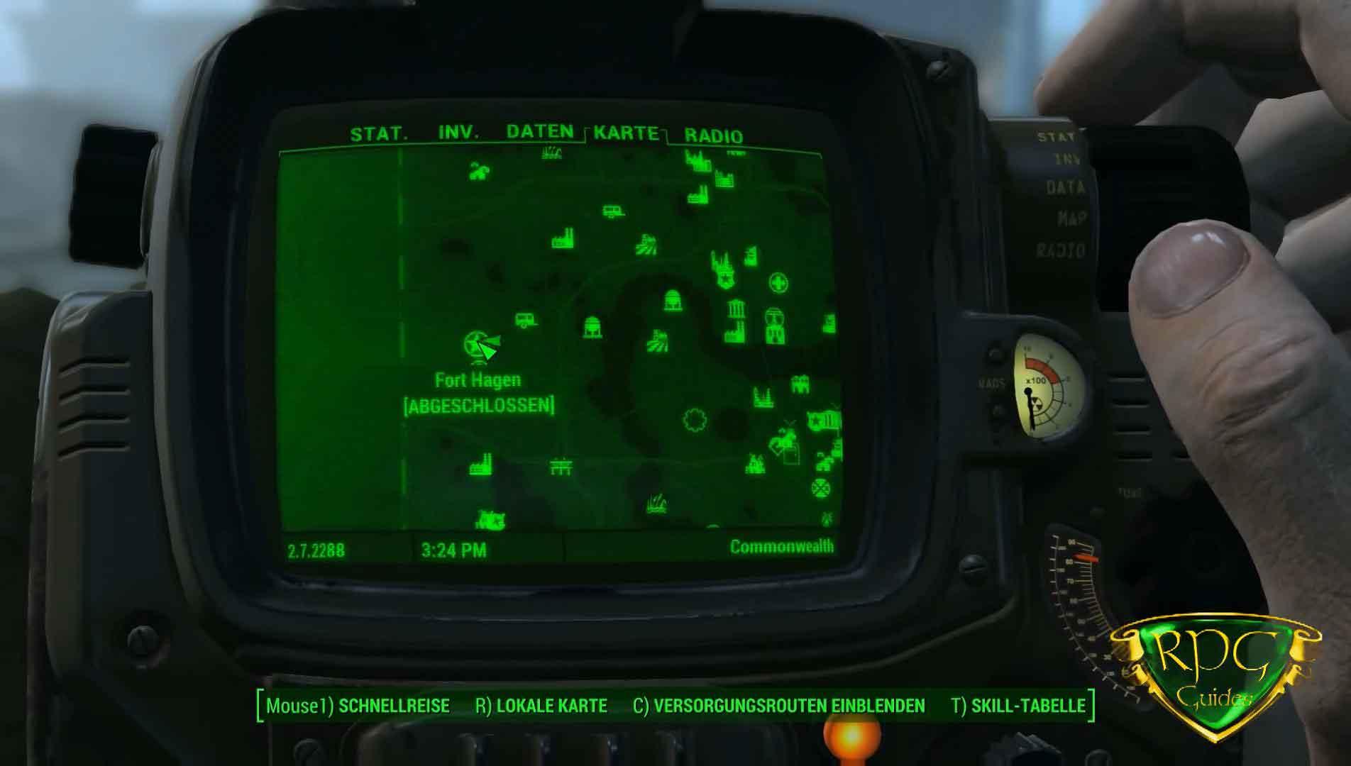 Fallout 4 Wackelpuppen Karte.Energiewaffen Wackelpuppe Fundort Fallout 4 Rpguides