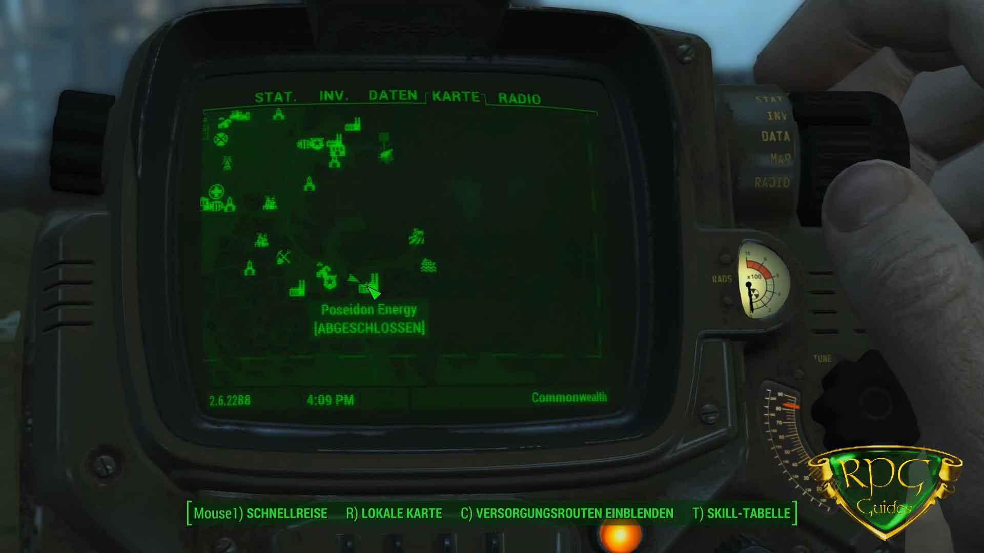 Fallout 4 Wackelpuppen Karte.Ausdauer Wackelpuppe Fundort Fallout 4 Rpguides