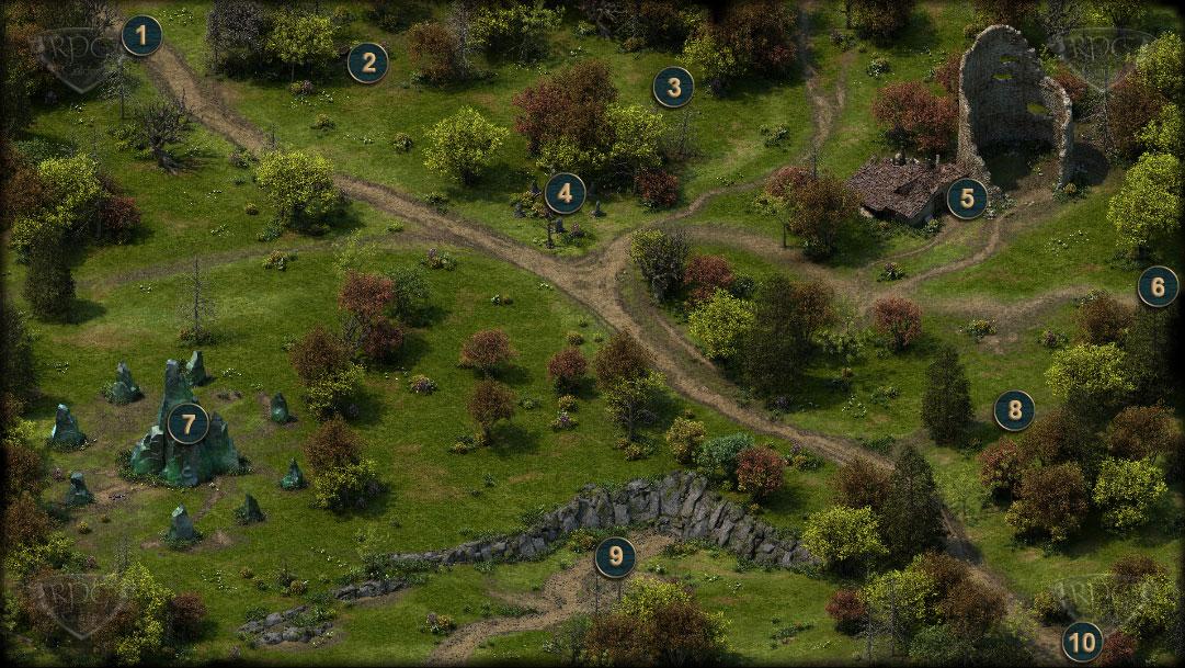Pillars Of Eternity Karte.Fürst Eines ödlands Lord Of A Barren Land Lösung Pillars Of