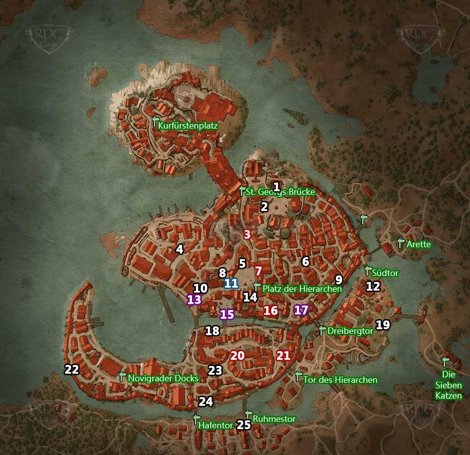 Novigrad Map Related Keywords & Suggestions - Novigrad Map Long Tail ...