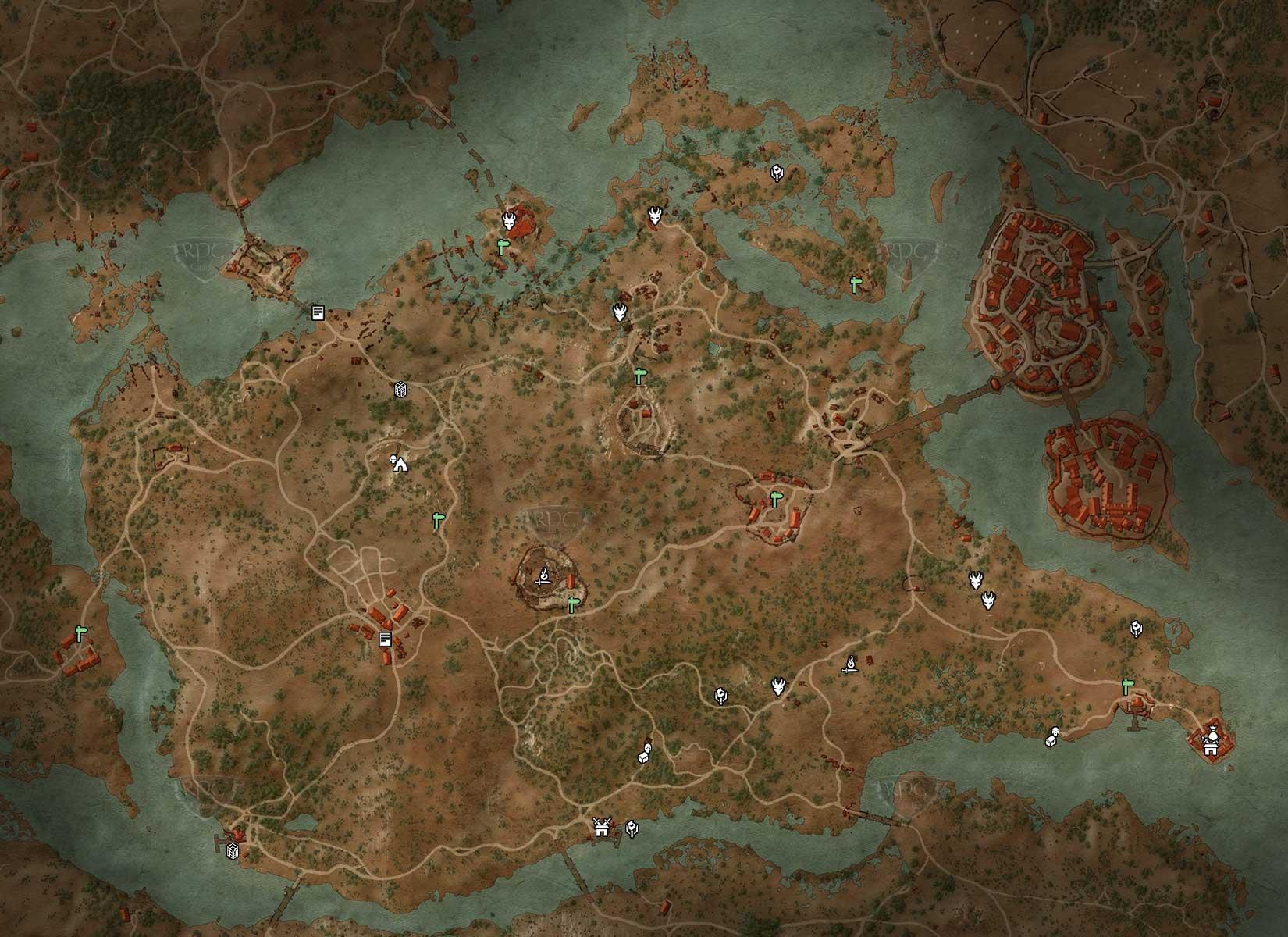 witcher 3 karte velen Velen: Graufels | Lösung | The Witcher 3 | RPGuides