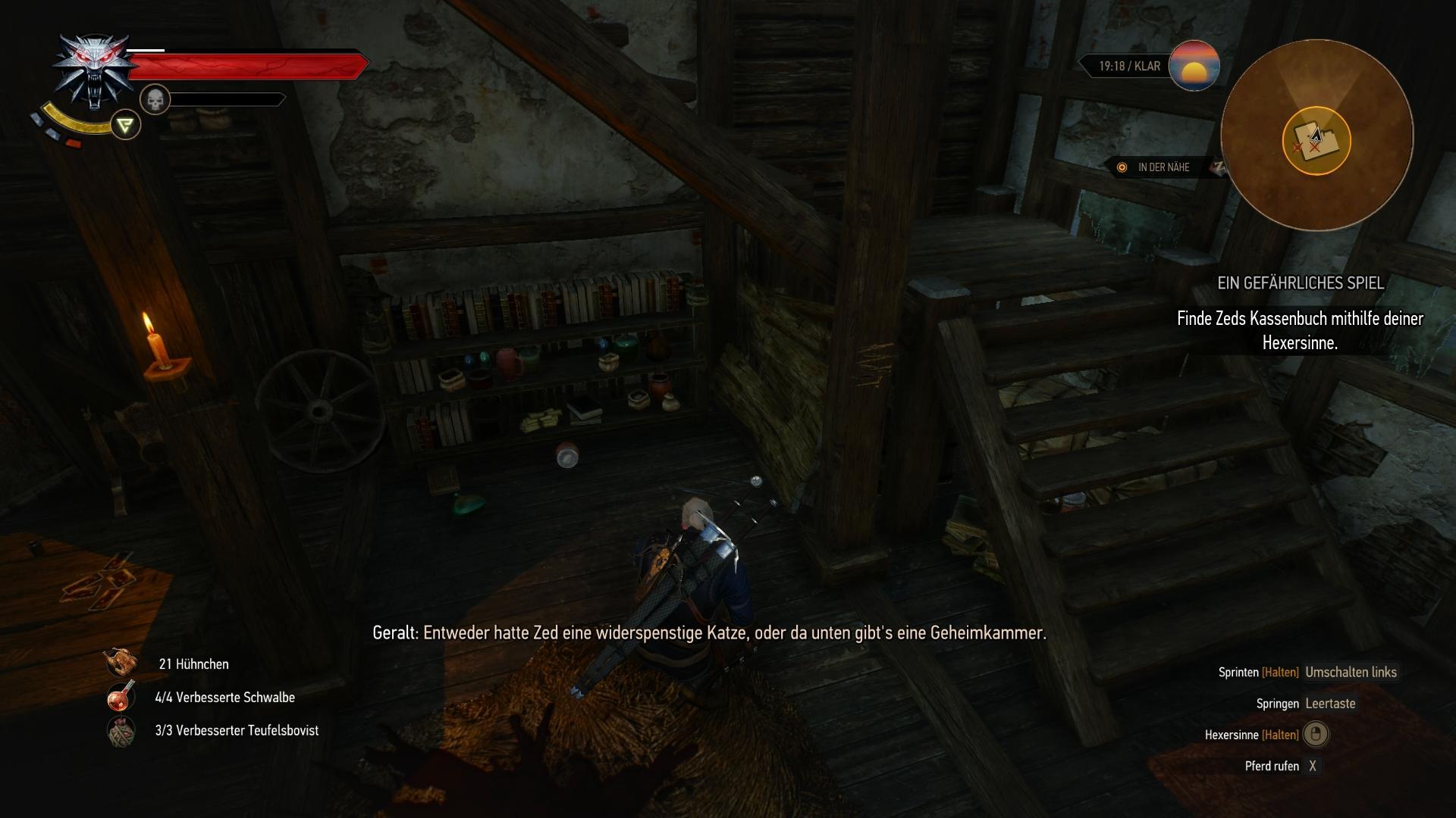 Nebenquest: Ein gefährliches Spiel (A Dangerous Game) | Lösung | The ...