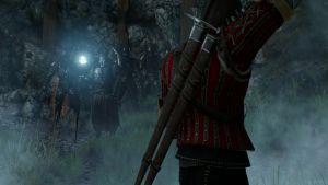 The witcher 3 die schlacht von kaer morhen hexer schwerter