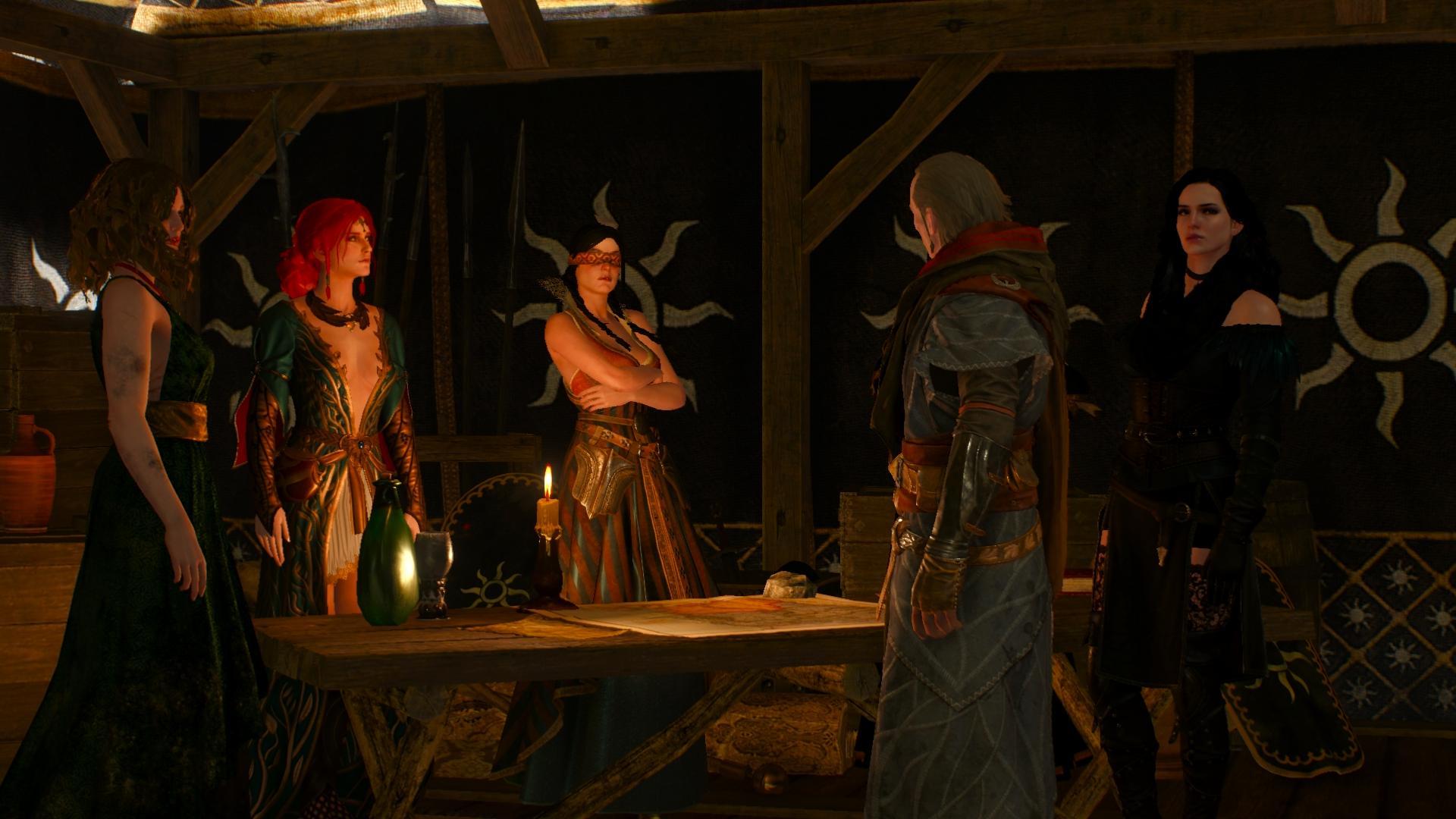Witcher 3 loge der zauberinnen