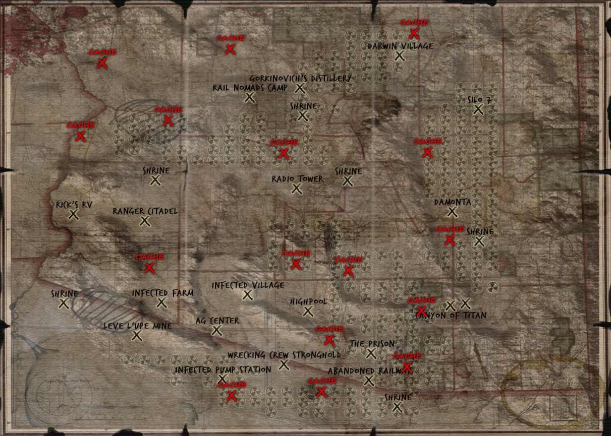 Geheime Lager (Caches)   Wasteland 2   RPGuides on