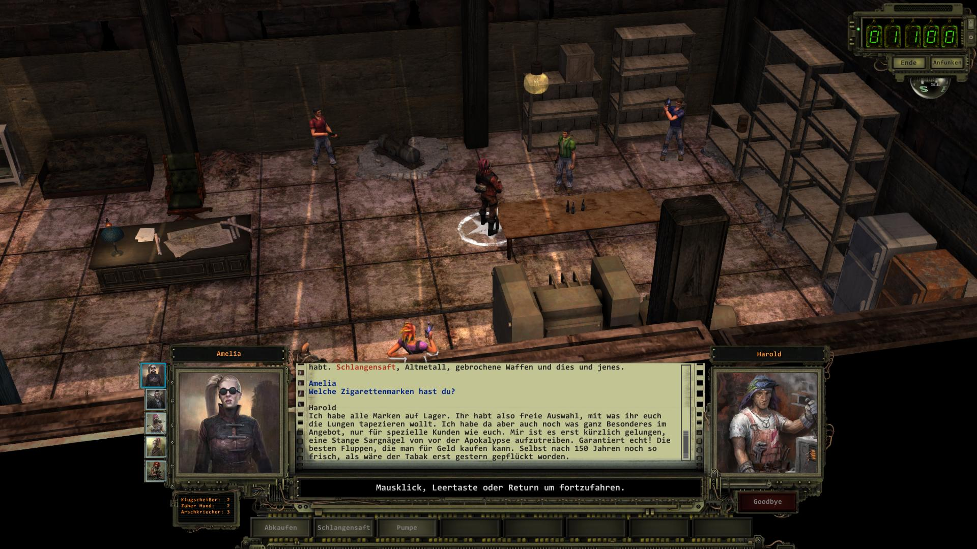 Highpool | Komplettlösung | Wasteland 2 | RPGuides