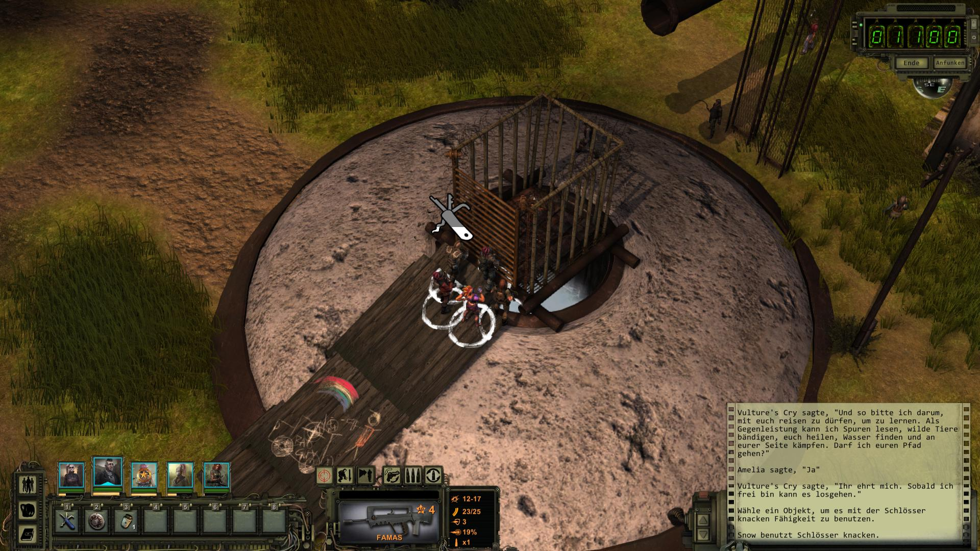 wasteland 2 how to get vultures cry
